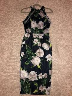 Flower Dress Size 8 fits as small