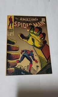 Amazing Spider-Man (vol 1) 67 VS mysterio