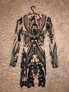 Mendocino Sequin Dress Size Small