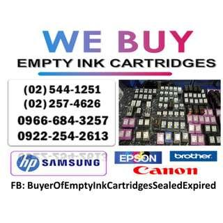 HIGH PRICE BUYER OF EMPTY INK AND TONER CARTRIDGES
