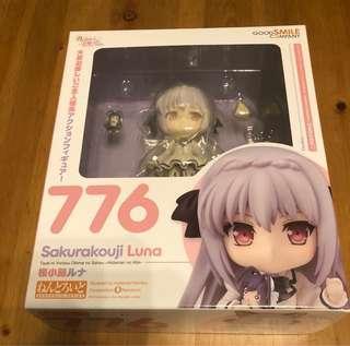 全新 Good Smile 日本限定 Nendoroid 776 Luna Sakurakouji 黏土人 近月少女的禮儀 櫻少路 露娜