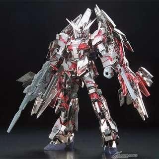 Gundam Front Tokyo HGUC RX-0 Unicorn Gundam 03 PHENEX type RC [Destroy Mode] 電鍍銀特別版