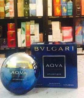 Authentic Bulgari Aqua Perfume