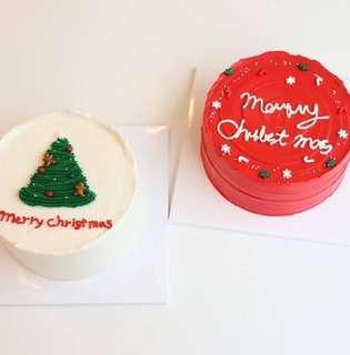 """Christmas cake(6"""")"""