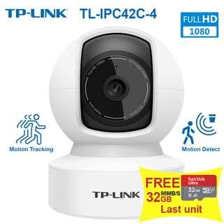 IP Camera TP-LINK TL-IPC42C-4 HD1080P Motion Tracking