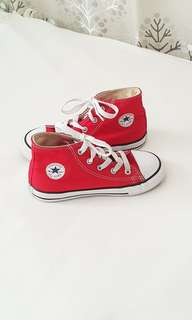 2a1b579ba5f9 Red Chuck Taylor Sneakers by Converse for Kids