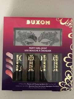 Buxom party girl pout