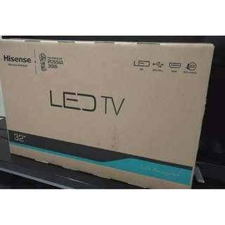 "Hisense 32"" digital tuner led tv (new set , 2 years warranty)"