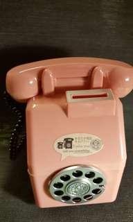 🚚 復古電話造型存錢筒