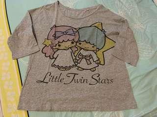 Twin little star shirt