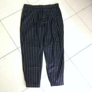 Uniqlo Stripe Pants #DEC50