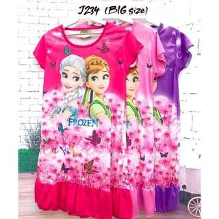❤Bargain Sale❤ Frozen Sisters Jersey Dress J234 *Buy any 3 above @RM11 each*
