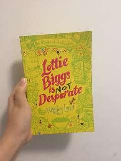 Lottie Biggs is not desperate book