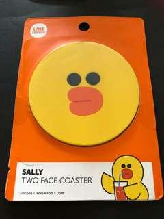 Line Friends 2 Face Salt Coaster (Authentic from Line Friends Store)