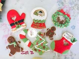 聖誕曲奇班set B