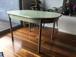Vintage retro 1950s 1960s dining table