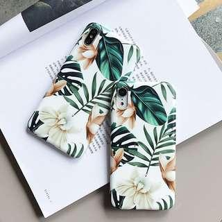 Orchid Palm Tropical Phone Case