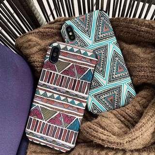 Retro Abstract Geometrical Phone Case