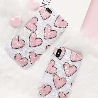 Conch Shell Heart Phone Case