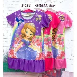 ❤Bargain Sale❤ Sofia The First Jersey Dress S021 *Buy any 3 and above@ RM11 each