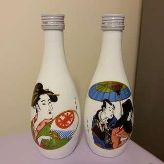 MIYANOYUKI Sake Set 宮の雪 浮世繪 清酒禮盒