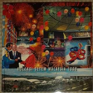 Collector's Item : The 1998 Stamp Collection of Malaysia ALBUM