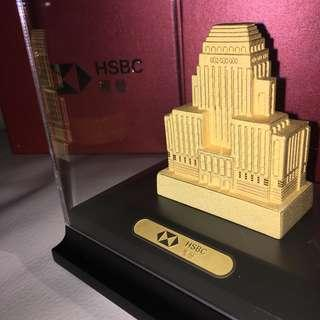 【HSBC】1935年 24K金匯豐舊總部🏅絕對值得收藏