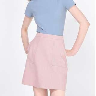 Fayth Kyser Checkered Skirt