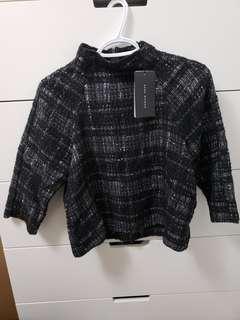 Brand new Zara crop knitwear
