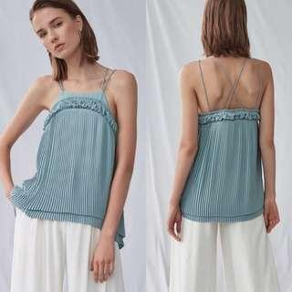BNIB COLLATE TIERED PLEATED CAMI TOP