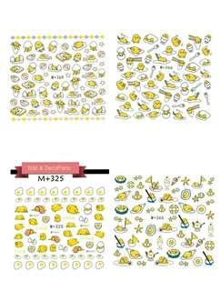 Gudetama nail stickers
