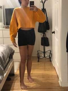 Zara Orange Crewneck