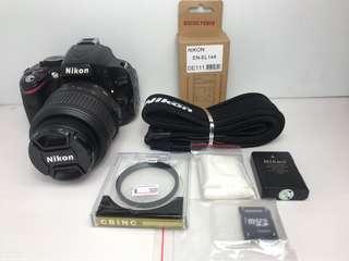 🚚 Nikon D5100 + 18-55mm + UV 單眼相機 DSLR