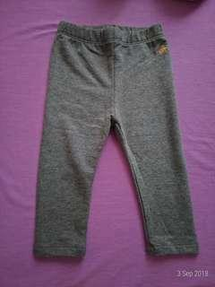 New - 12-18 M Legging GAP abu abu