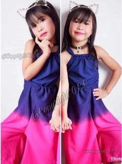 Sexyback Jumpsuit for Kids 3 to 7 y/o