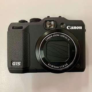 G15 Canon in excellent condition