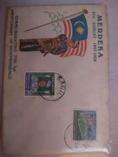 Malaysia First Day Cover