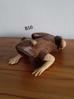 Craft Wooden Frog