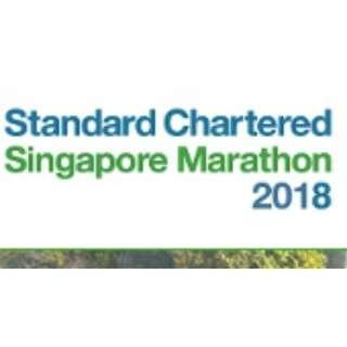 Standard Chartered Singapore 21.1km bib and Men's L vest
