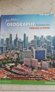 Geography Textbooks for secondary 1 & 2.
