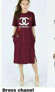 Dres chanel red