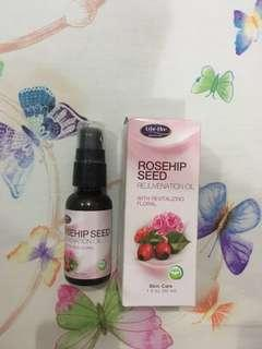 Life-Flo Rosehip Seed Rejuvenation Oil with Revitalizing Floral