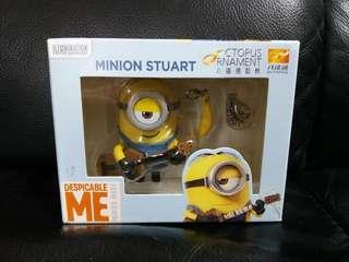 壞蛋獎門人 小黃人 Minion Stuart 成人 八達通 配飾 octopus