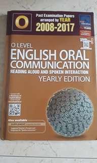 O level English Oral TYS.