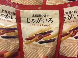 🚚 日本北海道境內限定    三色薯條 (50g)(現貨)