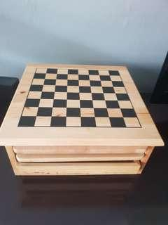 7 in 1 wooden game set
