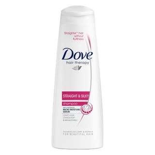 Dove Hair Therapy Straight & Silky Shampoo (350ml)