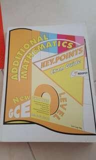 Amath sec 3&4 'O'Levels exam guide