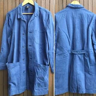 Denim Trench Coat (M)