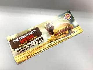 Cheesy BBQ Turkey Bacon Beef Meal Combo Coupon